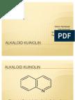 Alkaloid Kuinolin a