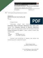 Surat Peminjaman Ruang Auditorium Garnadi