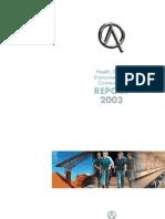 HSEC Report 2003