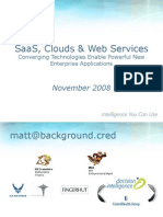 SaaS Clouds and Web Services