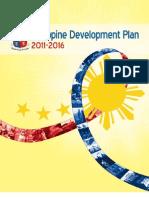Phil Dev Plan 2011 to 2016