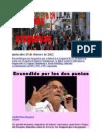 Noticias Uruguayas domingo 12 de febrero de 2012