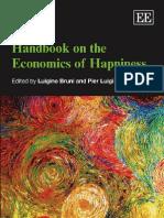 Handbook on the Economics of Happiness (Bruni and Porta 2007)