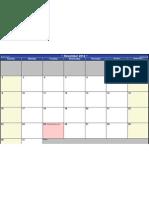 2012 PD Monthly Calendar