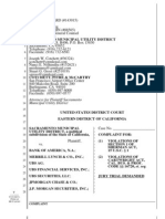 ΜΗΝΥΣΗ 12/11/2009 ΚΑΤΑ GOLDMAN SACHS & 45 ΑΛΛΩΝ ΤΡΑΠΕΖΩΝ, ΑΠΟ ΤΗ ΔΗΜΟΤΙΚΗ ΕΠΙΧΕΙΡΗΣΗ ΤΟΥ SACRAMENTO (CALIFORNIA - USA)