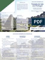 Tratados de Arte Em Portugal Ciclo de Conferc3aancias 2011