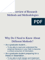 01 - Introduction to Research Methodology