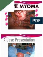 Myoma Case