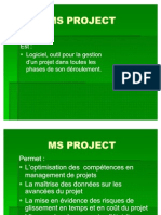 MS PROJECT Francine Cours
