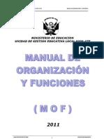 Manual de Funciones de La Ugel