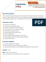 Foundation Programme on Stock Investing