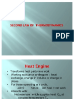 5. Thermo, 2 Nd Law