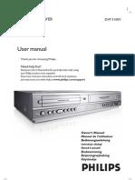 Philips Dvp3100v User Manual