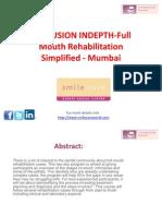 OCCLUSION INDEPTH-Full Mouth Rehabilitation Simplified - Mumbai
