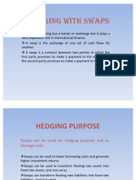 Hedging With Swaps