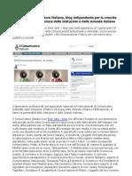 Il Comunicatore Italiano Nasce il nuovo Think Tank Blog per la Comunicazione Istituzionale Aziendale