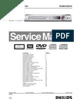Manual Servico Dvd Philips Dvdr3380