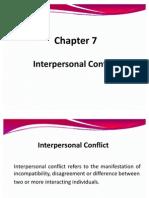 Chap 7 Conflict