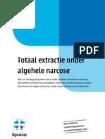 Totaal Extractie Onder Algehele Narcose