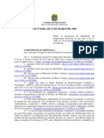 Lei 8001-13-marco-1990-