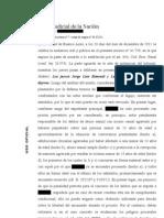 Excarcelación dictada por Rimondi y Bunge Campos