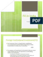 FII in India