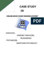 Online Movie Ticket Booking