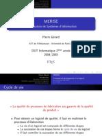 MERISE Presentation