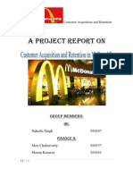 Mc Donalds Research Report