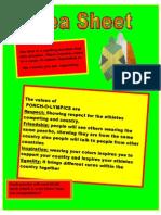 St Ninians High School - Idea Sheet