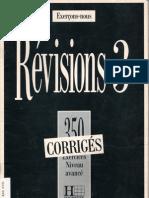 Hachette Revision Niveau Avance Corigee