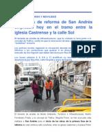 15-02-12 INFRAESTRUCTURAS_Inicio de obras en San Andrés