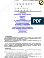 Accompagnement Et Formation Accompagnante