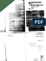 Ulin, Robert C - Antropología y Teoría Social [pdf]