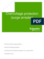 Surge Protection Over Voltage Devices