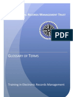 IRMT TERM Glossary of Terms