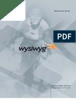 Manual Wysiwyg R23