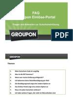 FAQ Groupon