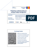 Developing National Strategy on Sludge Management Presentation 13Jun11