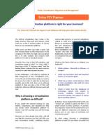 P2V Planner Whitepaper