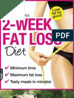 The Ultimate 2 Week Fat Loss Diet
