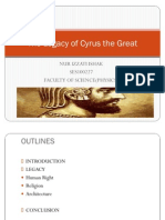 The Legacy of Cyrus the Great