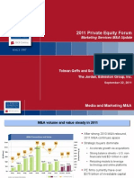 Jordan Edmiston Group 2011 Private Equity Forum