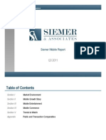 Siemer & Associates Mobile Report 3rd Qtr 2011