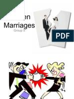 Broken Marriages