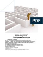 Risk Mangment Notes