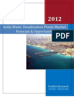 India Water Desalination Plants Market Forecast and Opportunities 2017_Sample