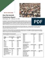 One City Final Prelim Report 02132012