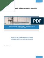 OCT 2010 - Protocolo Monitoreo y Seguimiento Calidad Del Aire