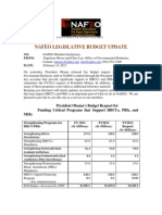 NAFEO Legislative Update on President Obama's FY13 Budget Request